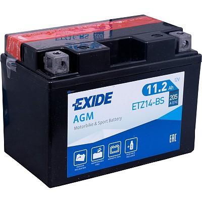 Moto akumulator Exide  ETZ14-BS 12V-11.2Ah
