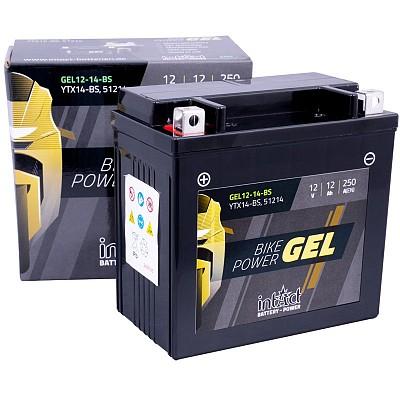 Moto akumulator Intact GEL YTX14-BS 12V-12Ah