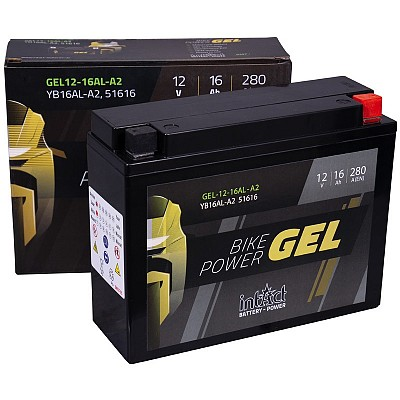 Moto akumulator Intact GEL YB16AL-A2 12V-16Ah