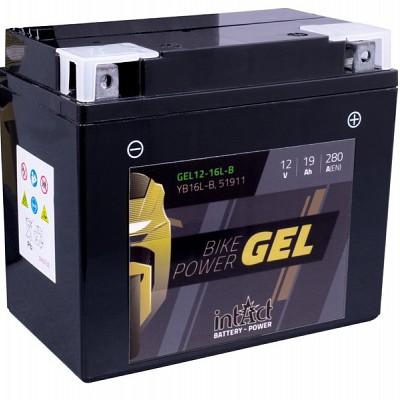 Moto akumulator Intact GEL YB16L-B 12V-19Ah