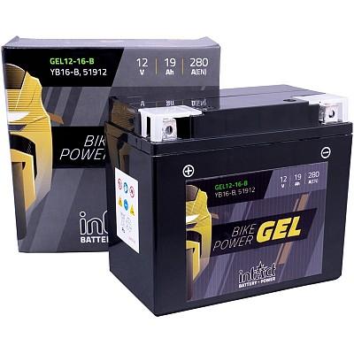 Moto akumulator Intact GEL YB16-B 12V-19Ah