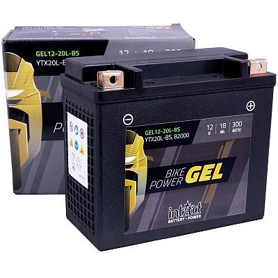 Moto akumulator Intact GEL YTX20L-BS 12V-18Ah