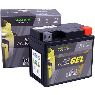 Moto akumulator Intact GEL YTX5L-BS 12V-4Ah