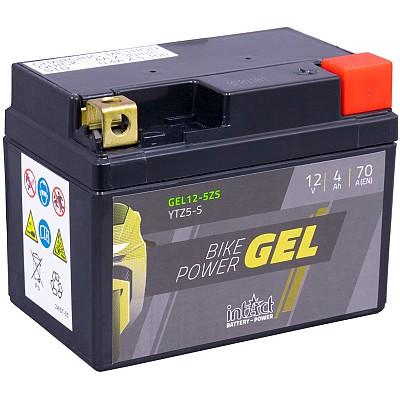 Moto akumulator Intact GEL YTZ5-S 12V-4Ah