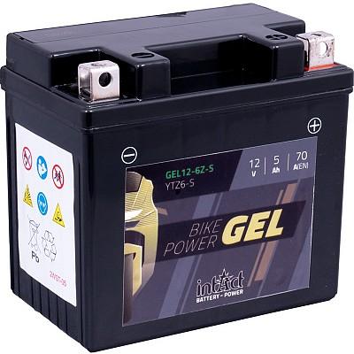 Moto akumulator Intact GEL YTZ6-S 12V-5Ah