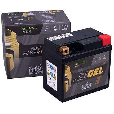 Moto akumulator Intact GEL YTZ7-S 12V-6Ah