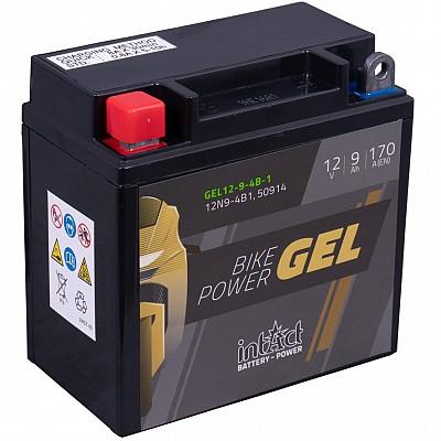 Moto akumulator Intact GEL 12N9-4B1 12V-9Ah