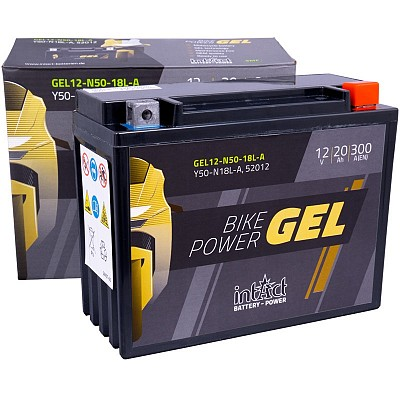 Moto akumulator Intact GEL Y50-N18L-A 12V-20Ah