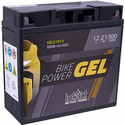 Moto akumulator Intact GEL 51913 12V-21Ah