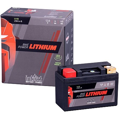 Moto akumulator Intact LI-03 12.8V-4Ah