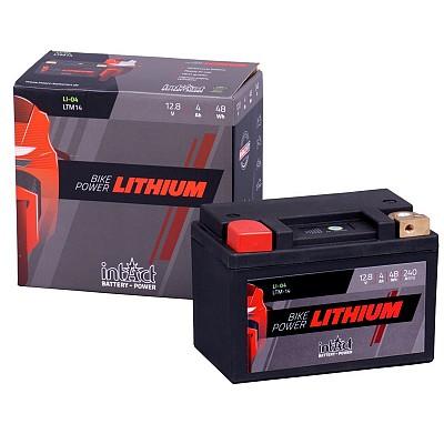 Moto akumulator Intact LI-04 12.8V-4Ah