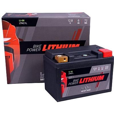 Moto akumulator Intact LI-06 12.8V-6Ah