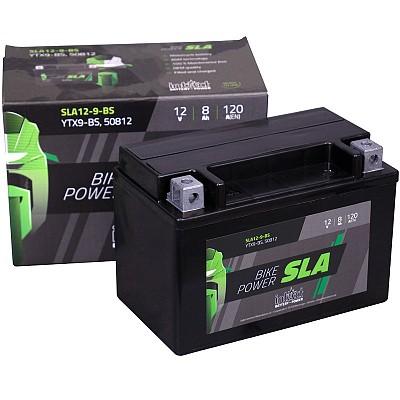 Moto akumulator Intact SLA YTX9-BS 12V-8Ah