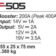 Booster FERVE F-505