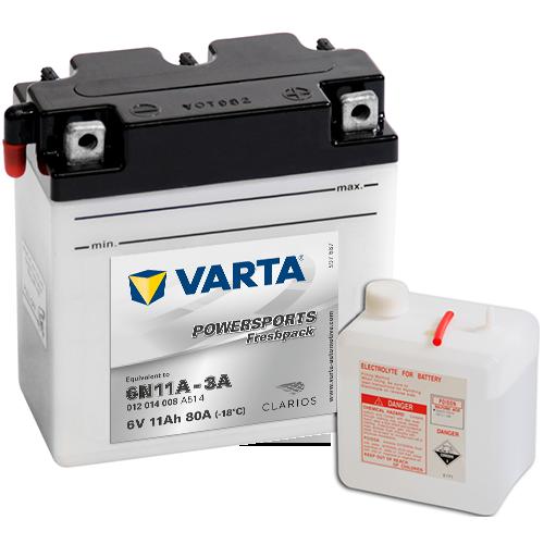 Moto akumulator Varta  6N11A-3A 6V-11Ah