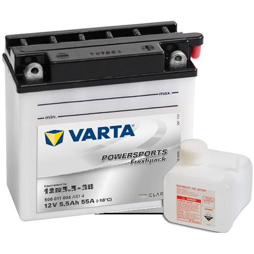 Moto akumulator Varta 12N5.5-3B 12V-5.5Ah