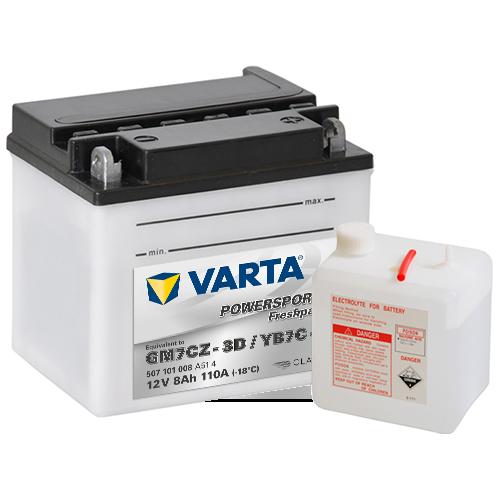 Moto akumulator Varta YB7C-A 12V-8Ah