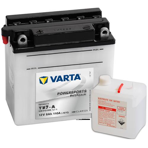 Moto akumulator Varta YB7-A 12V8Ah
