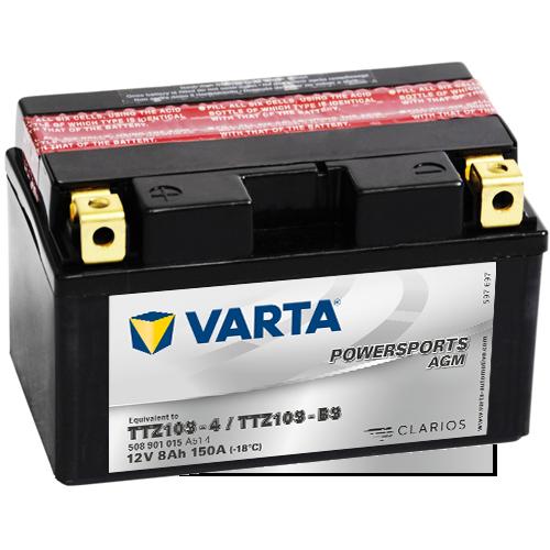 Moto akumulator Varta TTZ10S-BS 12V-8Ah
