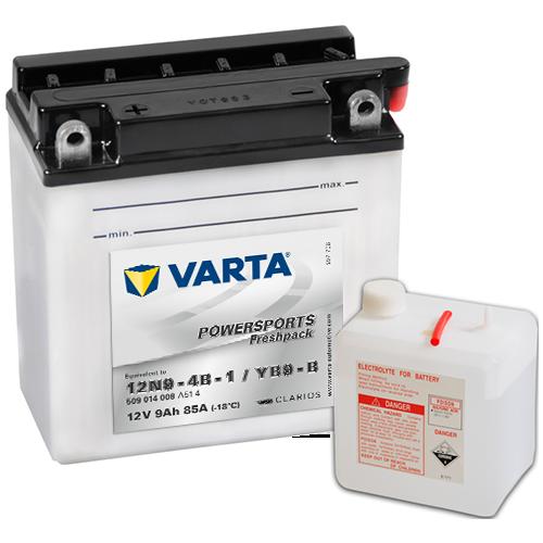 Moto akumulator Varta YB9-B 12V-9Ah