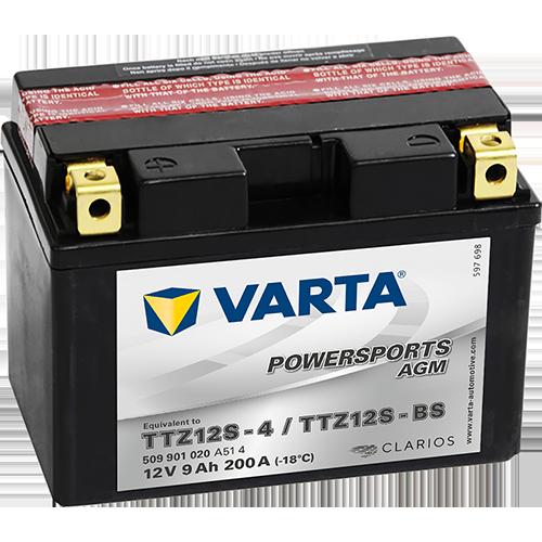 Moto akumulator Varta TTZ12S-BS 12V-9Ah