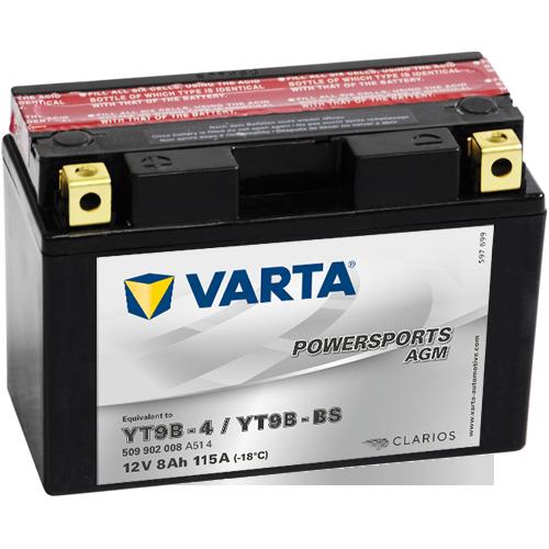 Moto akumulator Varta YT9B-BS 12V-8Ah
