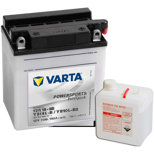 Moto akumulator Varta YB10L-B2 12V-11Ah