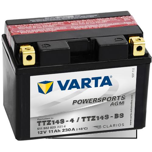 Moto akumulator Varta TTZ14S-BS 12V-11Ah