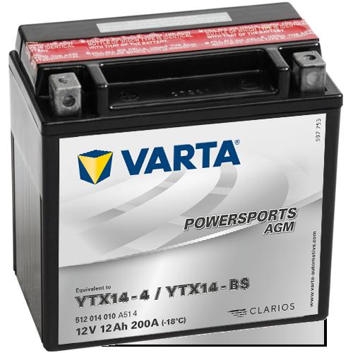 Moto akumulator Varta YTX14-BS 12V-12Ah