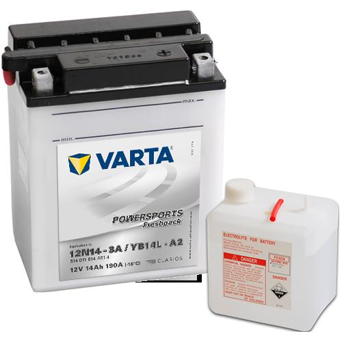Moto akumulator Varta YB14L-A2 12V-14Ah