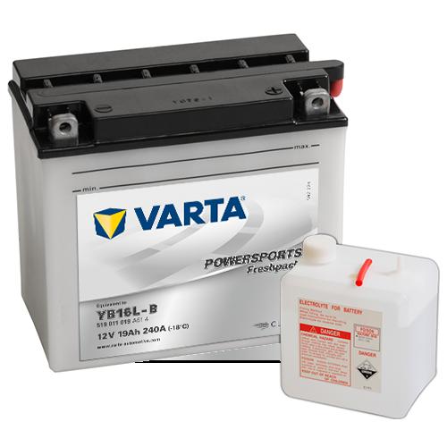 Moto akumulator Varta YB16L-B 12V-19Ah