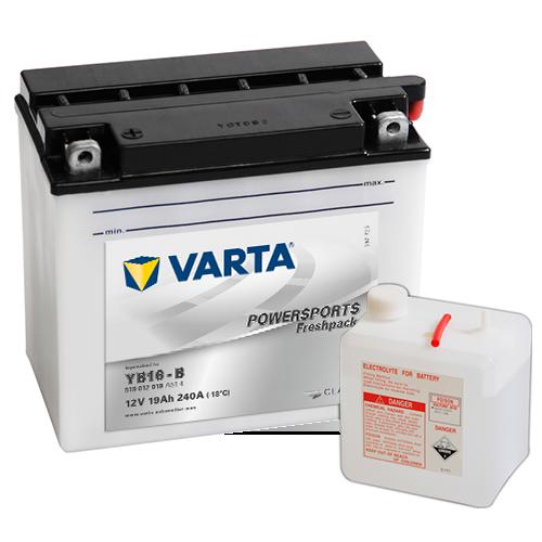 Moto akumulator Varta YB16-B 12V-19Ah