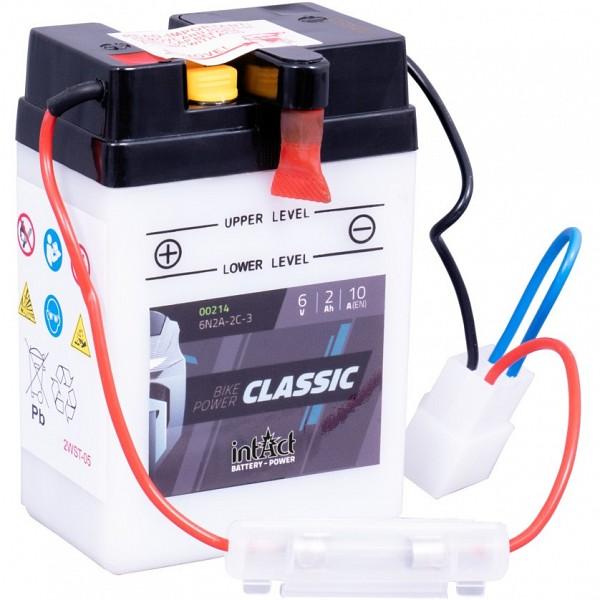 Moto akumulator Intact 6N2A-2C-3 6V-2Ah