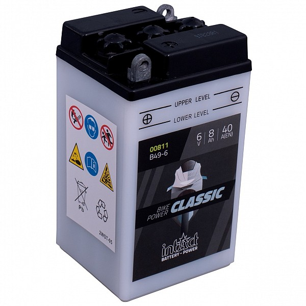 Moto akumulator Intact B49-6 6V-8Ah