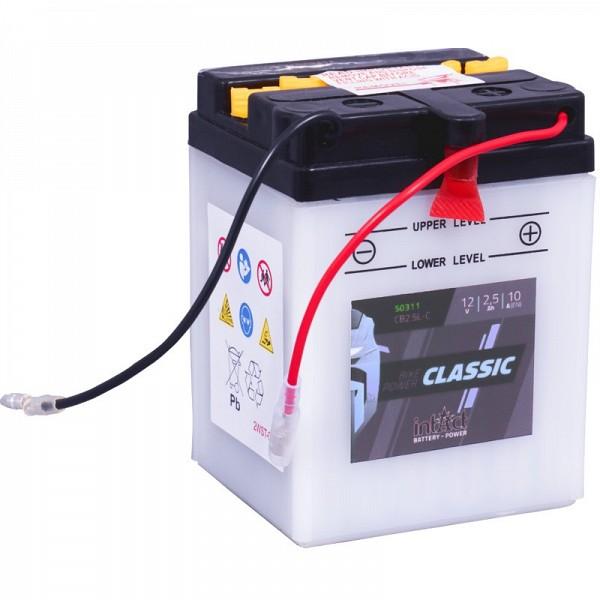 Moto akumulator Intact CB2.5L-C 12V-2.5Ah