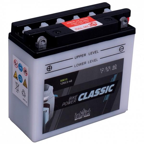Moto akumulator Intact 12N5.5-4B 12V-5.5Ah
