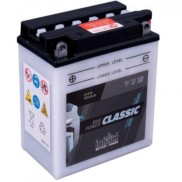 Moto akumulator Intact CB12A-B 12V-12Ah