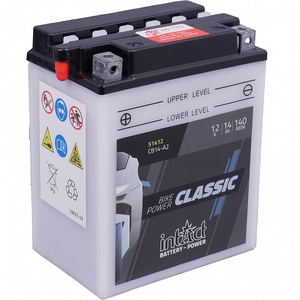 Moto akumulator Intact CB14-A2 12V-14Ah