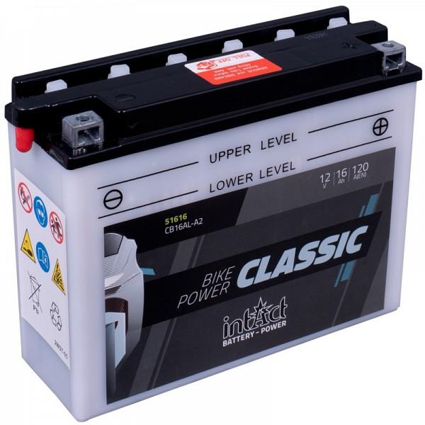 Moto akumulator Intact CB16AL-A2 12V-16Ah