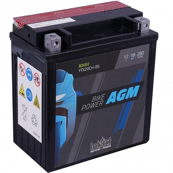Moto akumulator Intact AGM YTX20CH-BS 12V-18Ah