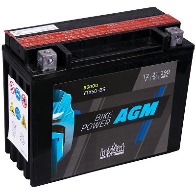 Moto akumulator Intact AGM YTX50-BS 12V-21Ah