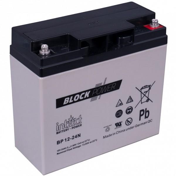 Akumulator Intact Block-Power 12V-24Ah N