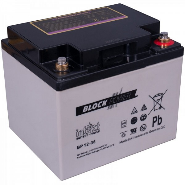 Akumulator Intact Block-Power 12V-38Ah