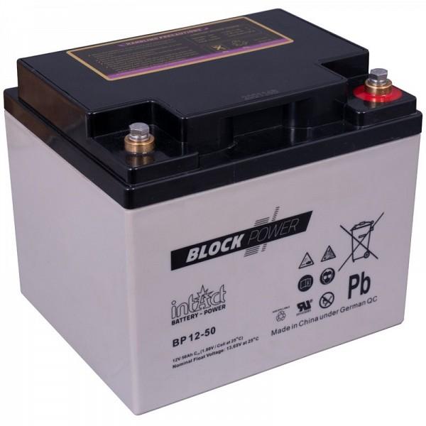 Akumulator Intact Block-Power 12V-50Ah (C10)