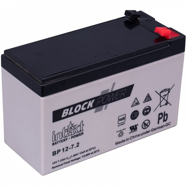 Akumulator intact Block-Power 12V-7.2Ah
