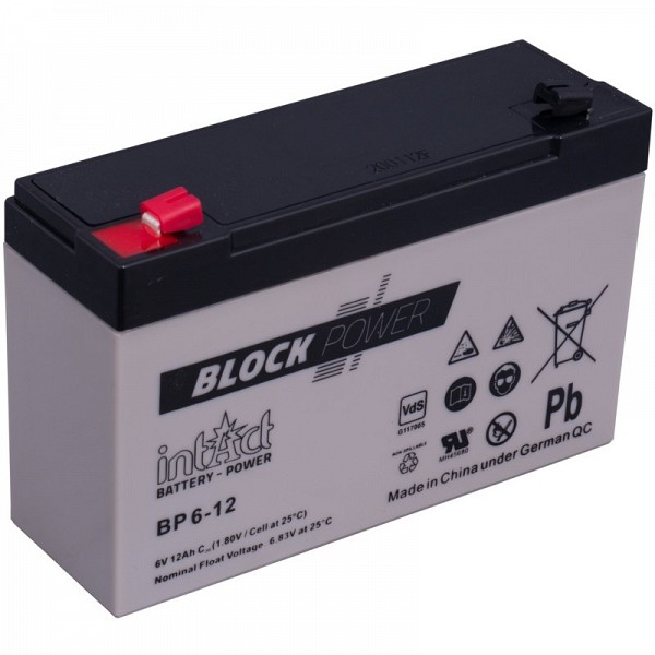 Akumulator intact Block-Power 6V-12Ah
