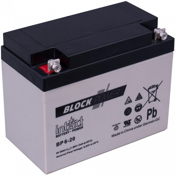 Akumulator intact Block-Power 6V-20Ah