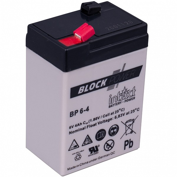 Akumulator intact Block-Power  6V-4Ah