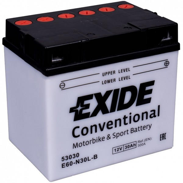 Moto akumulator Exide  E60-N30L-B 12V-30Ah