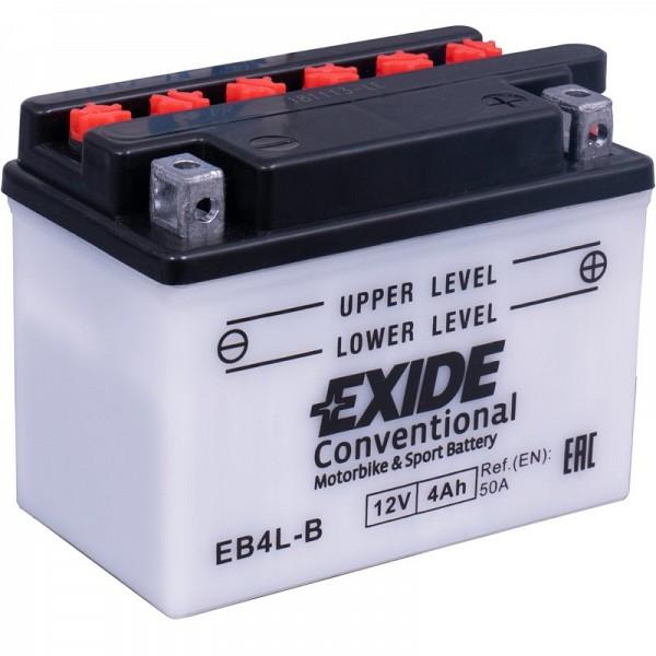 Moto akumulator Exide EB4L-B 12V 4Ah